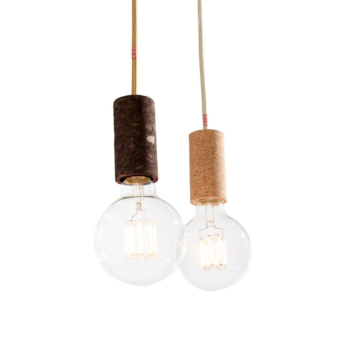 La lampe en li ge de nud collection connox - Ampoule nud collection ...
