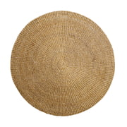 Bloomingville - Tapis rond naturel