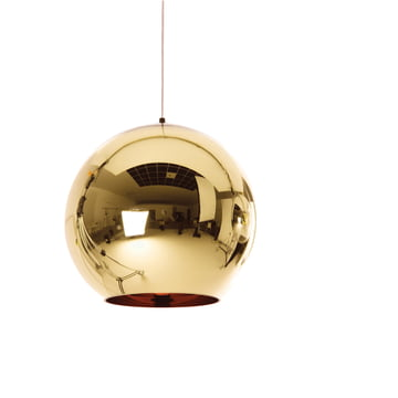 Suspension lumineuse bronze copper de tom dixon for Suspension lumineuse