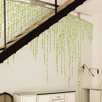 Domestic - Sticker mural Jungle Peas, vert